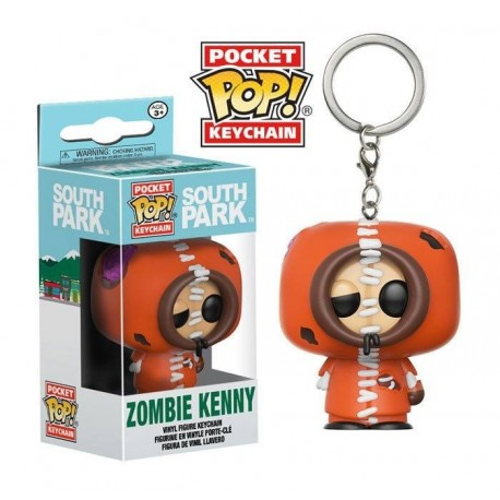Llavero Kenny Zombie de South Park Pop Funko Pocket