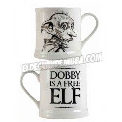 Taza Dobby Vintage Harry Potter