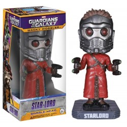 Figura Star-Lord Pop Funko Guardianes de La Galaxia 18 cm Cabezon Wacky Wobbler