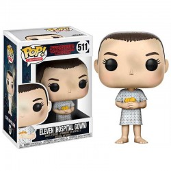 Figura Eleven Hospital Gown de Stranger Things Pop Funko 10 cm