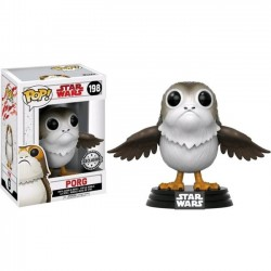 Figura Porg Exclusive de Star Wars The Last Jedi Episodio VIII Cabezon Pop Funko 9 cm