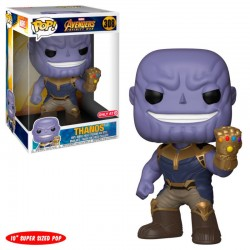 Figura Thanos Giant Exclusive de Los Vengadores Infinity War Pop Funko 25 cm