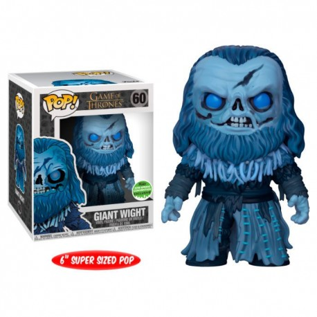 Figura Giant Wight Exclusive Limited ECCC 2018Juego De Tronos 15 cm Cabezon Pop Funko