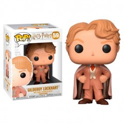 Figura Gilderoy Lockhart de Harry Potter Cabezon Pop Funko 10 cm