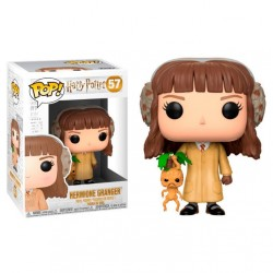 Figura Hermione Herbology de Harry Potter Cabezon Pop Funko 10 cm