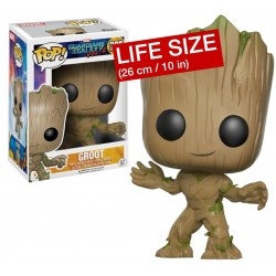 Figura Young Groot Super Size Gigante Guadianes de la Galaxia Vol. 2 Funko Pop