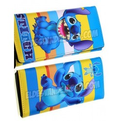 Cartera Billetera Stitch de Lilo y Stitch 20 cm