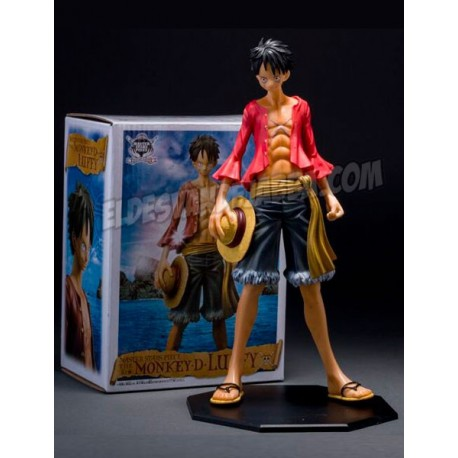 Figura Luffy de The Monkey D de One piece - 25 cm