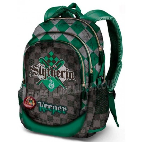 Mochila Harry Potter Casa Slytherin Premium