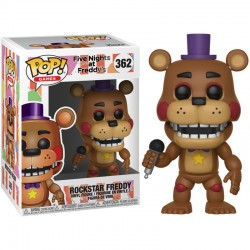 Figura Freddy 6 Pizza Sim Rockstar de Five Nights at Freddy's Pop Funko 10 cm