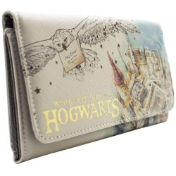 Cartera Harry Potter Carta Aceptacion Hogwargs Billetera y Monedero