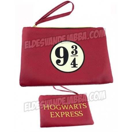 Bolso Clutch Anden 9 3/4 Hogwarts Express de Harry Potter