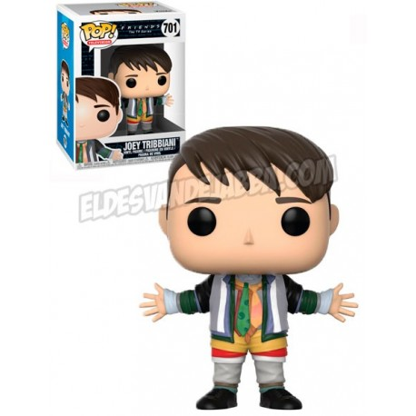Figura Joey Tribbiani con ropa de Chandler de Friends Pop Funko 10 cm
