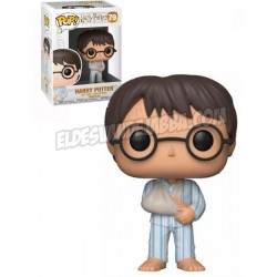 Figura Harry Potter en Pijama de Harry Potter Cabezon Pop Funko 10 cm