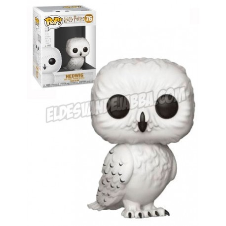 Figura Hedwig de Harry Potter Cabezon Pop Funko 10 cm
