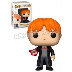 Figura Ron With Howler de Harry Potter Cabezon Pop Funko 10 cm