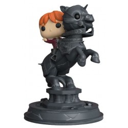 Figura Ron Riding Chess Piece Movie Moments de Harry Potter Funko Pop