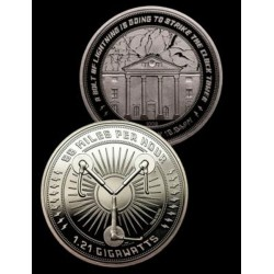Moneda Regreso al Futuro Edicion Limitada Conmemorativa 25 Aniversario Clock Tower Back To The Future