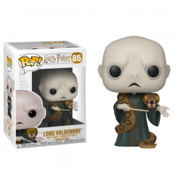 Figura Voldemort With Nagini Exclusive Harry Potter Funko Pop