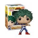 Figura Deku Training de My Hero Academia Cabezon Pop Funko 10 cm