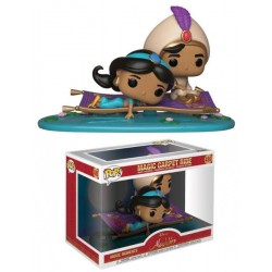 Pack Magic Carpet Ride Principe Ali y Jasmine de Aladdin Movie Moments Pop Funko