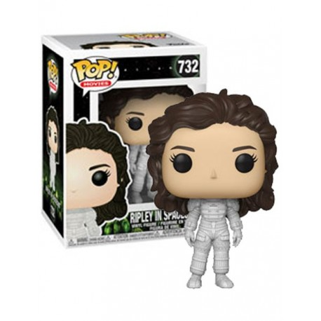 Figura Ripley In Spacesuit de Alien Cabezon Pop Funko 10 cm