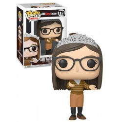 Figura Amy de The Big Bang Theory Cabezon Pop Funko 10 cm