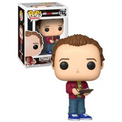 Figura Stuart de The Big Bang Theory Cabezon Pop Funko 10 cm