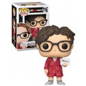 Figura Leonard de The Big Bang Theory Cabezon Pop Funko 10 cm