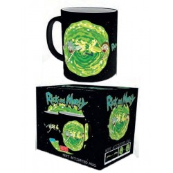 Taza Rick and Morty Portal Reactiva al Calor