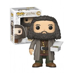 Figura Ruebus Hagrid with Cake de Harry Potter Cabezon Pop Funko 15 cm