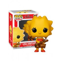 Figura Lisa de Los Simpsons Funko Pop 10 cm
