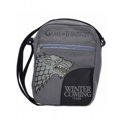 Bolso Bandolera Juego de Tronos Casa Stark Winter is Coming