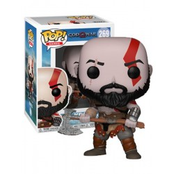 Figura Kratos God of War Pop Funko 10 cm