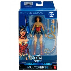 Figura Wonder Woman Deluxe DC Comics