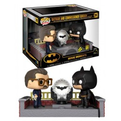 Pack Batman 80th with Light Up Bat Signal Movie Moments Pop Funko