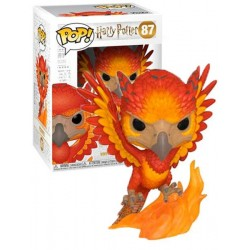 Figura Fawkes de Harry Potter Cabezon Pop Funko 10 cm