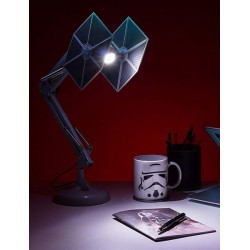 Lampara Flexo Tie Fighter Star Wars