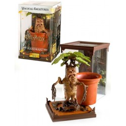 Estatua Mandragora Harry Potter Magical Creatures Noble Collection