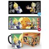 Taza Termica Dragon Ball Son Goku y Vegeta Saiyan