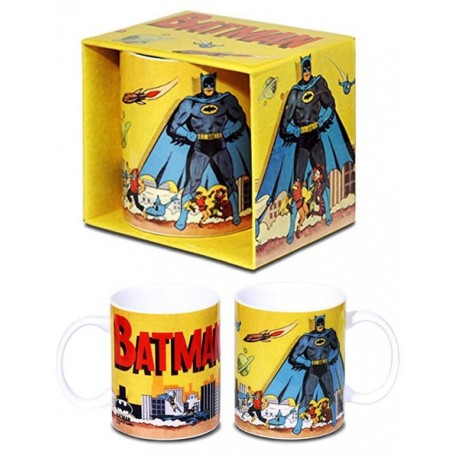 Taza Batman Retro DC Comics Gotham City