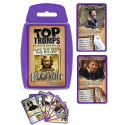 Juego de Cartas Harry Potter y El Prisionero de Azkaban Top Trumps