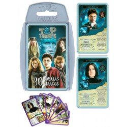 Juego de Cartas Harry Potter 30 Brujas y Magos Top Trumps