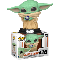 Figura The Child With Control Knob EXCLUSIVE Baby Yoda The Mandalorian Star Wars Funko Pop