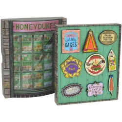 Set 9 Pin Exclusivos Harry Potter HoneyDukes Badge Noble Collection
