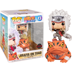 Figura Jiraiya on Toad Rides de Naruto Pop Funko