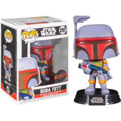 Figura Boba Fett Vintage EXCLUSIVE Star Wars Funko Pop
