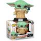 Figura The Child With Butterfly EXCLUSIVE Baby Yoda The Mandalorian Star Wars Funko Pop