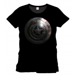 Camiseta Capitan America Silver Shield Captain America