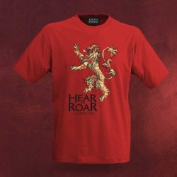 Camiseta Casa Lannister Juego de Tronos Games Of Thrones House